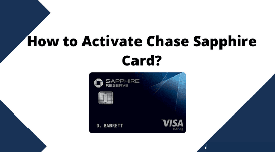 How to Activate Chase Sapphire Card